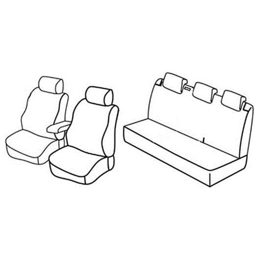Sedežne prevleke za Volkswagen Polo Comfortline
