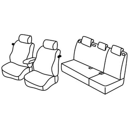 Sedežne prevleke za Polo Trendline Family