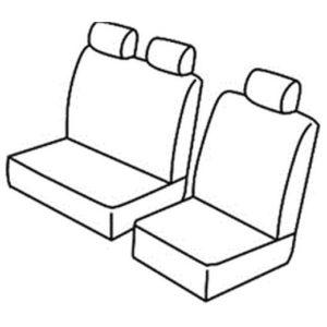 Sedežne prevleke za Volkswagen T4