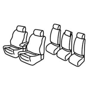 Sedežne prevleke za Volkswagen Touran
