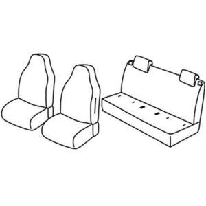 Sedežne prevleke za Volkswagen UP
