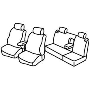 Sedežne prevleke za Volkswagen Vento