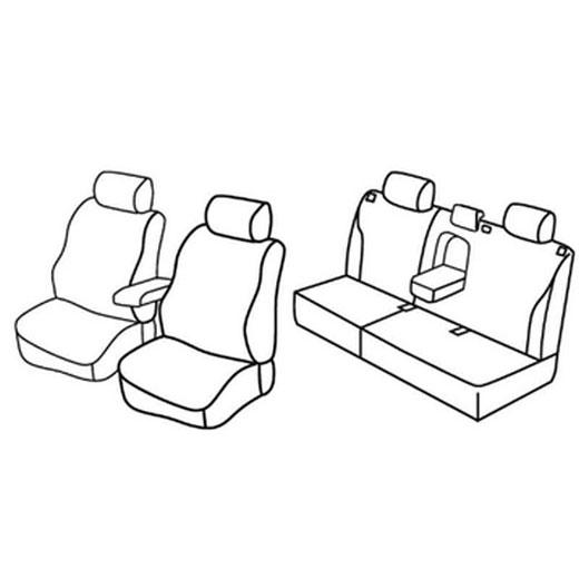 Sedežne prevleke za Volvo S40