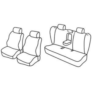 Sedežne prevleke za Volvo S60 Sedan