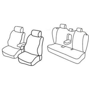 Sedežne prevleke za Volvo S80