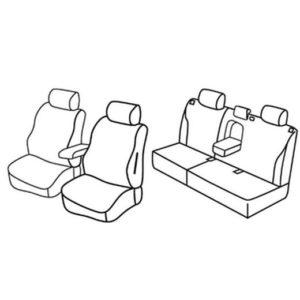 Sedežne prevleke za Volvo V50