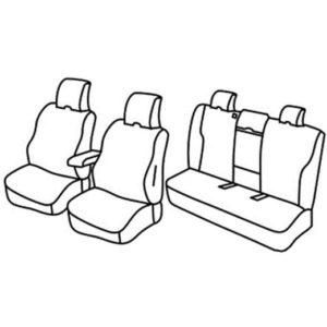 Sedežne prevleke za Volvo V60