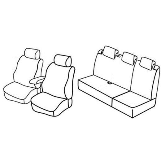 Sedežne prevleke za Volkswagen Polo Trendline