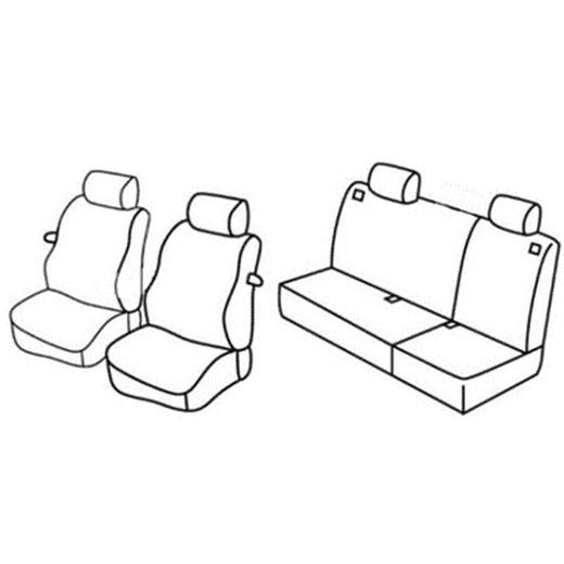 Sedežne prevleke za Volkswagen Polo