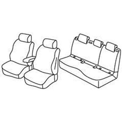 Sedežna prevleka za Volvo XC40