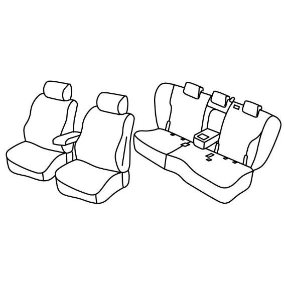 Sedežne prevleke za Audi Q5